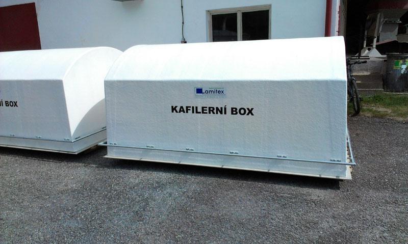 Velký kafilerní box na kadávery