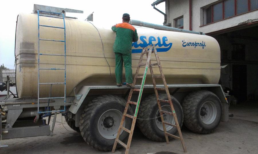 oprava cisterny